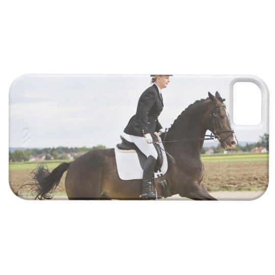 female dressage rider exercising 2 iPhone SE/5/5s case