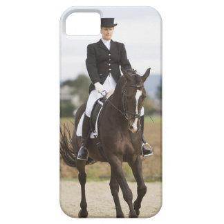 female dressage rider exercising iPhone 5 case