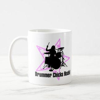 female drummers Rock Coffee Mug