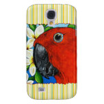 Female Eclectus Parrot iPhone 3G/3GS Case  Samsung Galaxy S4 Cases