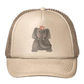 Female Elephant Trucker Hat