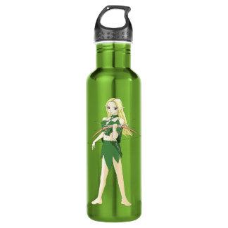 Female Elven Archer Water Bottle