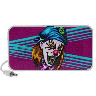 Female Evil Clown PC Speakers