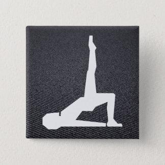 Female Exercises Graphic Button