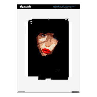 Female Expressions 592 iPad 3 Decal