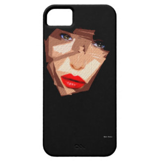 Female Expressions 592 iPhone SE/5/5s Case