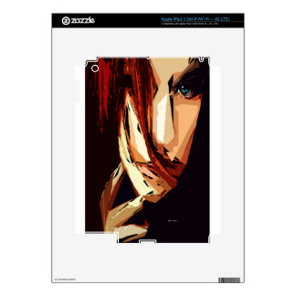 Female Expressions XIII Skin For iPad 3