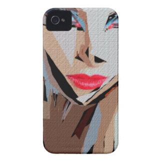 Female Expressions XVIII Case-Mate iPhone 4 Case