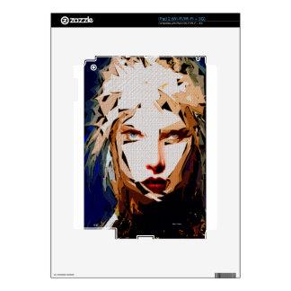 Female Expressions XXXVIII iPad 2 Decals