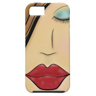 Female Face iPhone 5 Case
