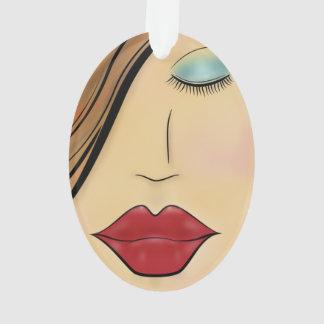 Female Face Ornament
