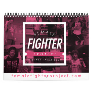 Female Fighter Project Calender Calendar