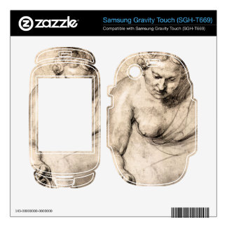 Female figure by Paul Rubens Samsung Gravity Touch Skin