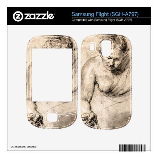 Female figure by Paul Rubens Skins For Samsung Flight