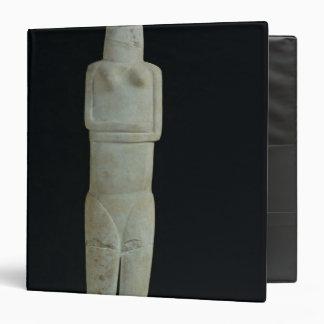 Female figure, from Amorgos Vinyl Binders