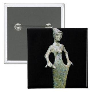 Female figure, possibly Aphrodite Button