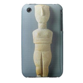 Female figurine, early Cycladic, c.2800-2300 BC (m iPhone 3 Case