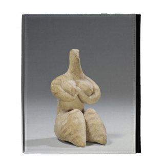 Female figurine in the Halaf style, c.4500 BC (ter iPad Folio Cases