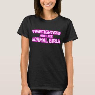 Female Firefighter T Shirt - Firewoman Gifts
