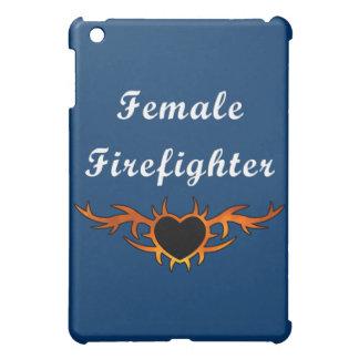 Female Firefighter Tattoo iPad Mini Cases