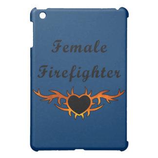 Female Firefighter Tattoo iPad Mini Covers