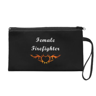 Female Firefighter Tattoo Wristlet
