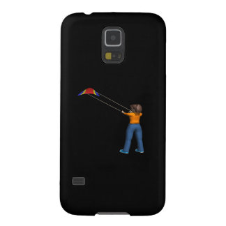 Female Flying Kite Galaxy S5 Cover