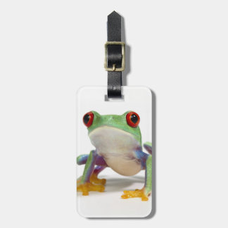 Female frog 2 luggage tag