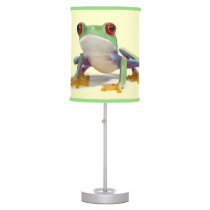 Female frog 2 table lamp
