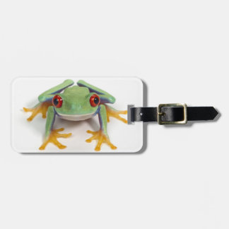 Female frog bag tag