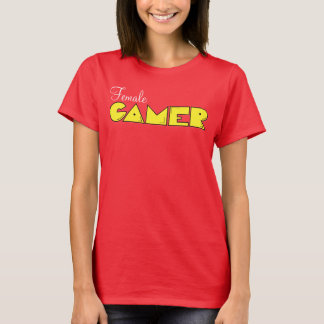Female Gamer Classic Video Game shirt