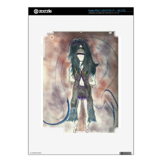Female Ghostly Products iPad 3 Decals