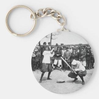 Female Giants: 1913 Keychain