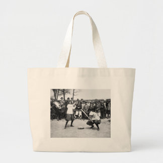 Female Giants: 1913 Large Tote Bag