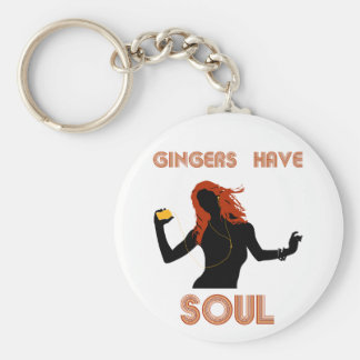 Female Gingers have Soul Keychain