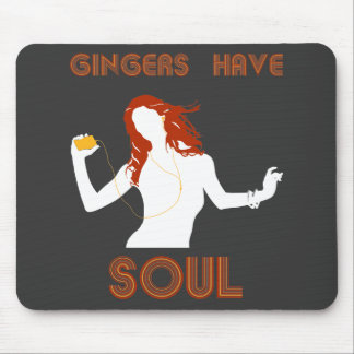 Female Gingers have Soul Mouse Pad