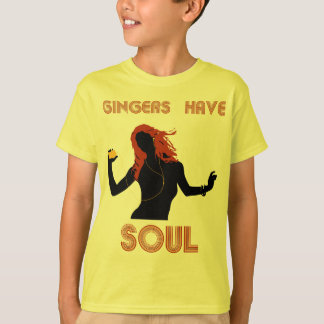 Female Gingers have Soul T-Shirt