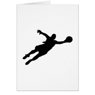 (Female) Goalie Save Card