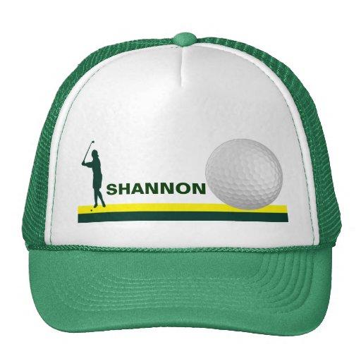 Female Golf hat customizable