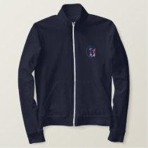 Female Golf Swing Embroidered Jacket