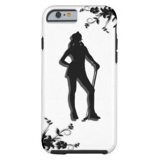 Female Golf Tough iPhone 6 Case