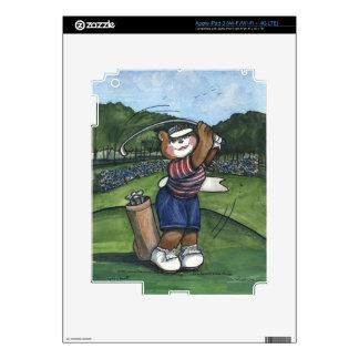 Female Golfer iPad 3 Skin