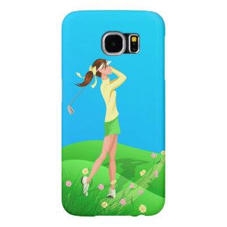Female Golfer Spring Samsung 6 Case