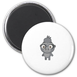 Female Gorilla - My Conservation Park 2 Inch Round Magnet