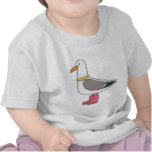 Female Gull - Pearls and boots T Shirts