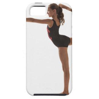 Female gymnast (12-13) balancing on one leg iPhone SE/5/5s case