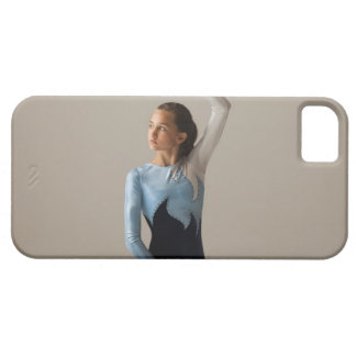 Female gymnast (12-13) performing splits iPhone SE/5/5s case
