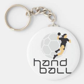 female handball llavero personalizado