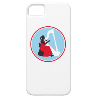 female harp more player iPhone SE/5/5s case