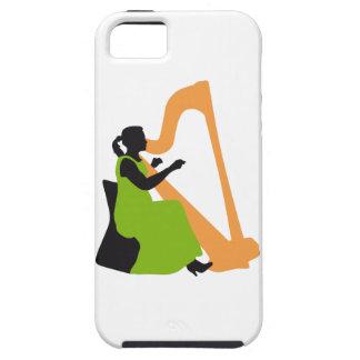 female harp more player iPhone SE/5/5s case